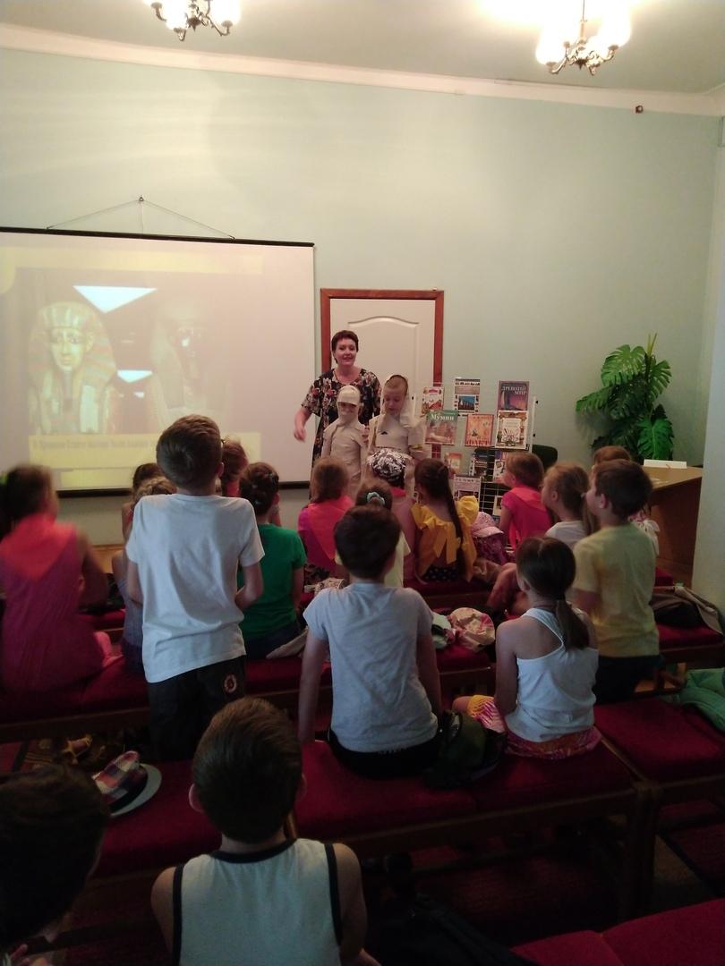 отдел обслуживания учащихся 5-9 классов, Донецкая республиканская библиотека для детей, лето в библиотеке, работа с пришкольными лагерями, интересно об истории мира