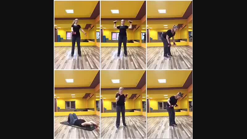 Тренировка верха тела