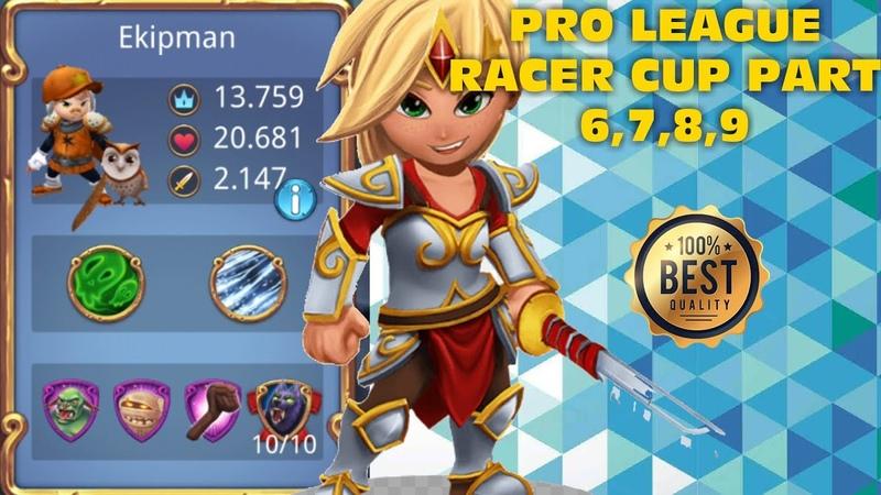 Royal Revolt 2 l Pro League Racer Cup Part 6,7,8,9