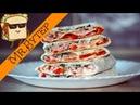ТРЕХЭТАЖНЫЙ Горячий БУТЕРБРОД в ЛАВАШЕ ○ Слоеный хрустящий лаваш с начинкой
