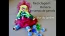 (RECICLAGEM) Boneca de Tampas de garrafa pet - bottle doll - Bottle wrist