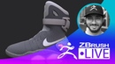 Back to the Future II Nike MAG Fan Art Shoe Design Techniques Solomon Blair Episode 1