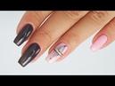 Delicate feather nails art tutorial / Star Nail Cuccio