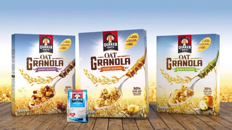 237 Quaker Oats Logo Plays with Instant Oatmeal Parody