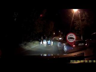 Человек сбил 2 пешеходов в Симферополе