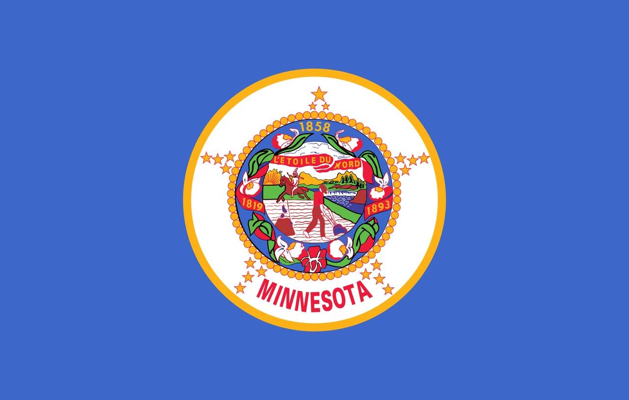 Флаг Миннесота