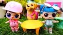 LOL ve Shopkins oyuncak bebek videosu. Kız oyuncakları. Kuklalarla eğlenceli oyunlar!