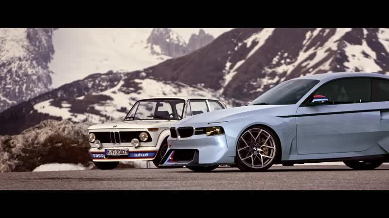 Концепт BMW 2002 Hommage.