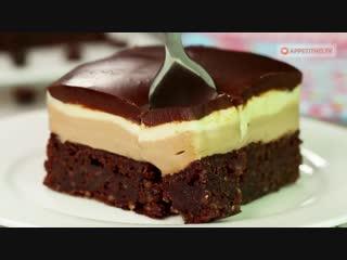Обволакивающий шоколадный торт-мусс с кофе