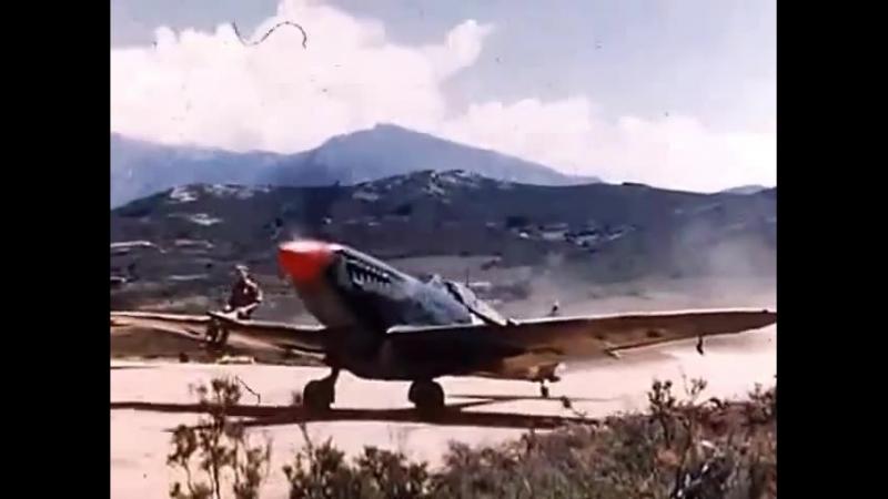 54 Squadron 322 Wing RAF Spitfire IX Poretta Corsica 1944