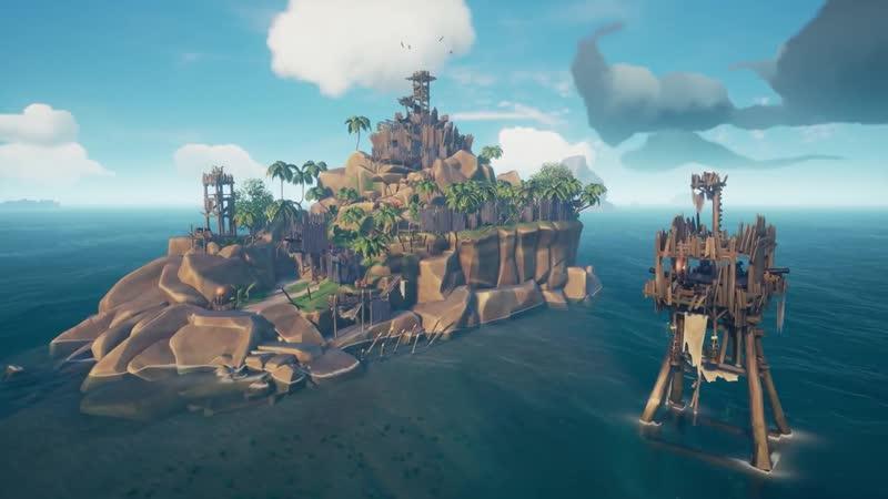 Четвертое бесплатное обновление Shrouded Spoils для игры Sea of Thieves!