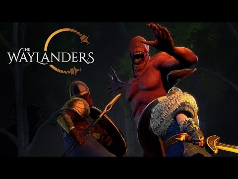 The Waylanders FIRST live streaming - pre-alpha demo Gameplay (25 October 2018)
