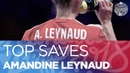 Amandine Leynaud pulls out some stunning saves against Denmark Women's EHF EURO 2018