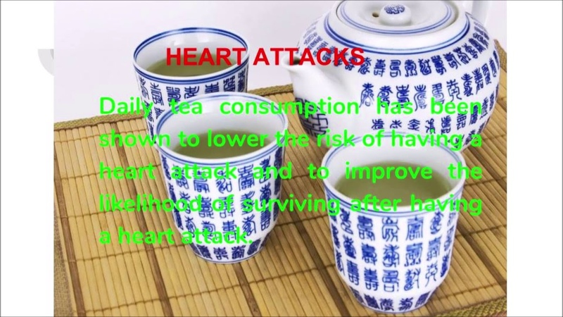Green tea for heart health