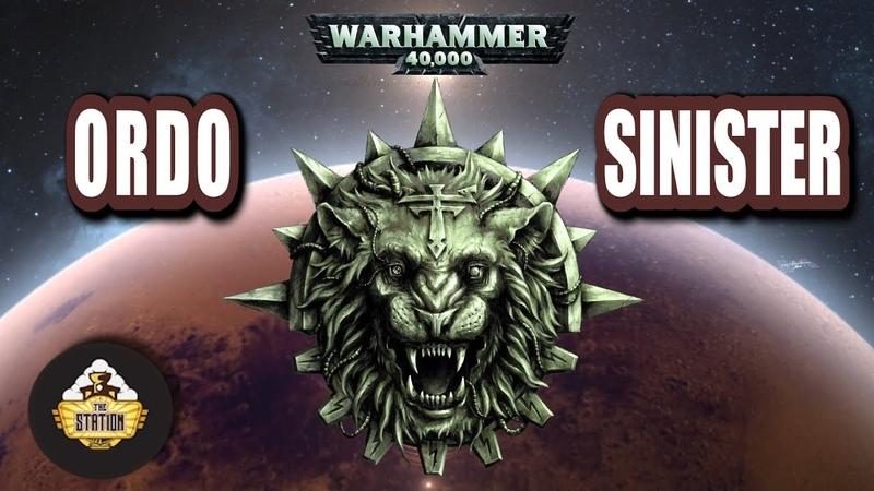 Былинный Сказ Ordo Sinister Пси-Титаны Warhammer 40k