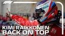Kimi Raikkonen Back On Top 2018 United States Grand Prix