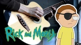 Rick and Morty - Evil Morty Theme (For the Damaged Coda by Blonde Redhead) - Fingerstyle Bass Cover