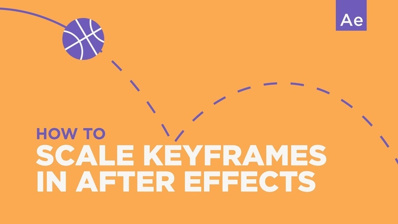 How To Scale Keyframes After Effects Tutorial