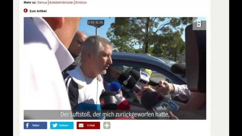 Genua: Weitere Beweise für Brückensprengung? - Gerhard Wisnewski
