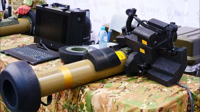 Javelin anti tank missiles to Georgia, 26 may Military Exhibition tbilisi georgia