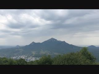 Пятигорск. Вид на гору Бештау с Машука.