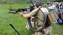 Пулемет: стрельба стоя, США vs России / USA vs Russia