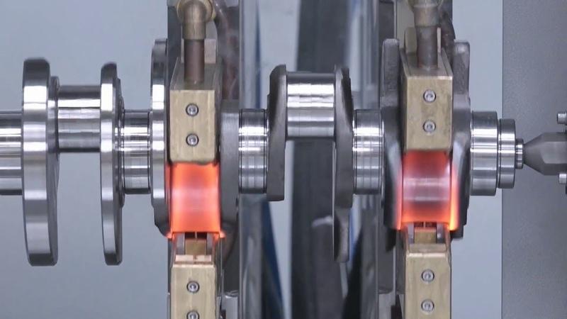 工廠實拍發動機曲軸的制造過程,據說這技術曾經難倒臺灣幾十年
