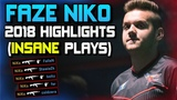 NiKo Is INSANE! 2018 HIGHLIGHTS! (SICK PLAYS, ACES, CLUTCHES!) - CSGO