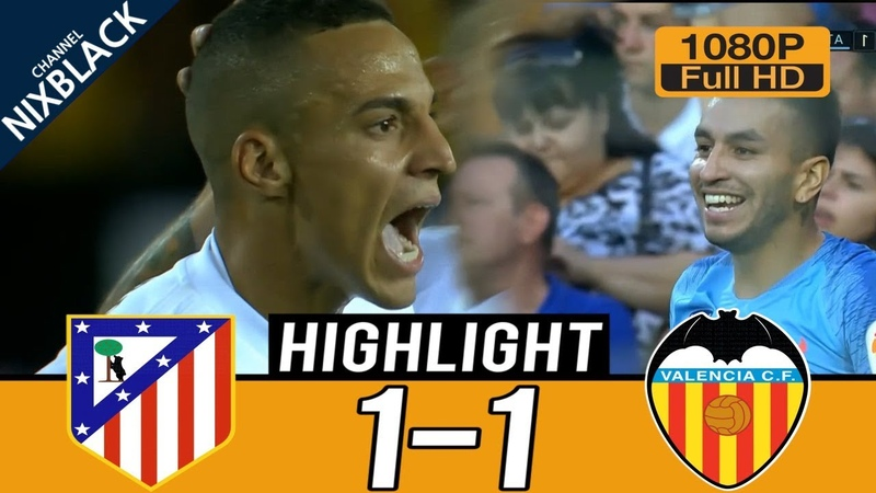 Valencia vs Atlético Madrid 1-1 Highlights English Commentary (20/08/2018) FHD/1080P