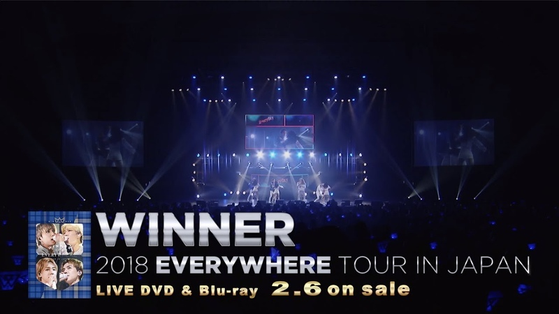 WINNER - EVERYDAY (WINNER 2018 EVERYWHERE TOUR IN JAPAN)