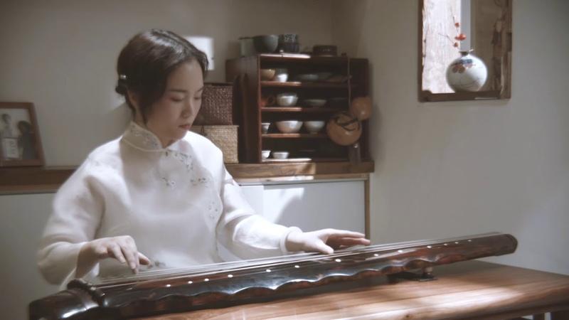 古琴 《梅花三弄》必听的十大名曲之一 Guqin's famous traditional Chinese music depicting plum blossoms