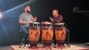 Paoli y Branlie Mejias Rumba al estilo Rumba Cha congas Jazzambia