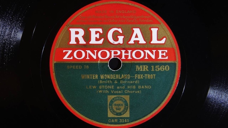 Lew Stone and His Band – Winter Wonderland