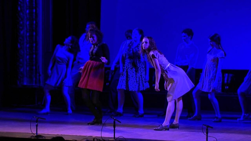 Dorrance Dance Jungle Blues excerpt