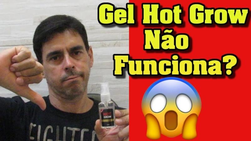 Gel Hot Grow Funciona Gel Hot Grow Pra que Serve Gel Hot Grow Como usar Comprar Gel Hot Grow