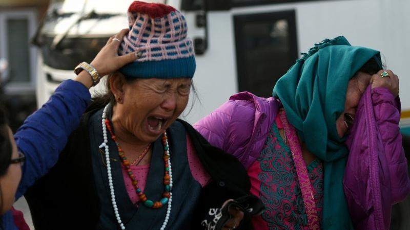 В Гималаях погибли девять альпинистов из Южной Кореи и Непала