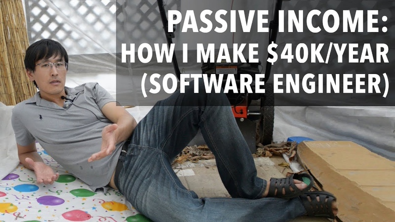 Passive Income How I make $40,000year doing nothing (software engineer edition)