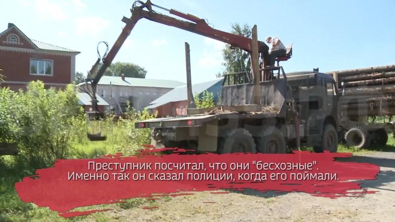 Похититель на КАМАЗе разобрал дорогу и украл железобетонные плиты