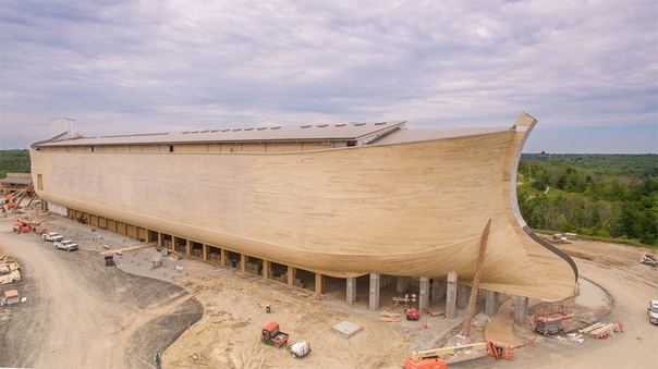 Построен Ноев ковчег в натуральную величину - самое большое деревянное судно в мире В парке Уильямстаун построили удивительное сооружение, которое сразу же стало достопримечательностью. Это