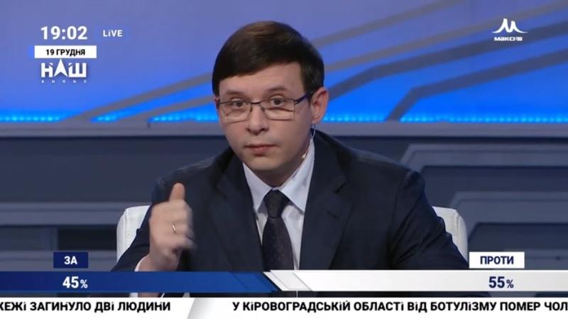 Мураєв Кредити МВФ давно перестали бути економічними НАШ 19 12 18