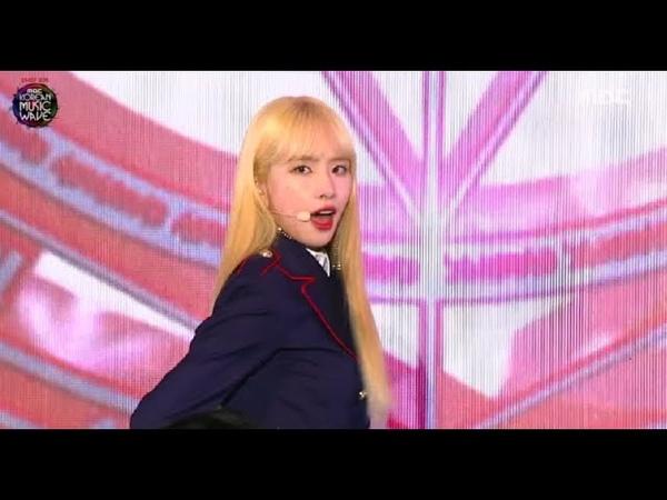 [Korean Music Wave] WJSN - Dreams Come True , 우주소녀 - 꿈꾸는 마음으로 , DMC Festival 2018