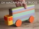 Машинка из жестяной банки для хранения карандашей Время Детей