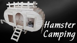 Happy hamster campground plan. Popsicle stick craft