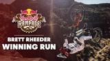 One Run and Done Brett Rheeder's Winning Run at Red Bull Rampage 2018