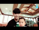 Seyong and baby