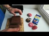 Молочный шоколад с печеньем орео