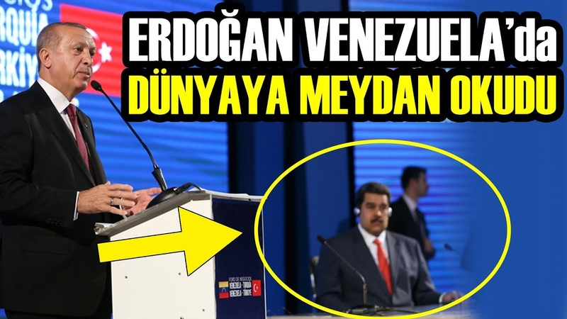 Erdoğan ve Madurodan Amerika Kıtasında Gövde Gösterisi