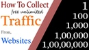 How to collect/manage free unlimited Traffic from Websites || (for any country's traffic)