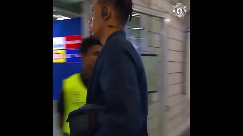 MUFC are in the building! UCL