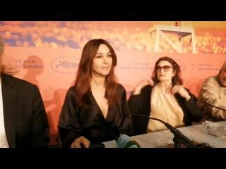 Monica bellucci press conference in cannes film festival 19 may 2019
